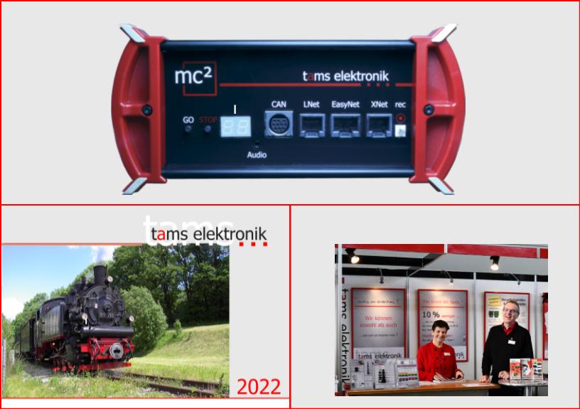 Tams Elektronik - Elektronik + mehr fr die Modellbahn